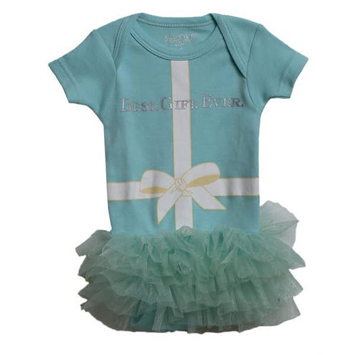 Best Gift Ever Tutu Onesie