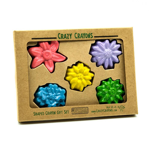 Flower Solid Crayons