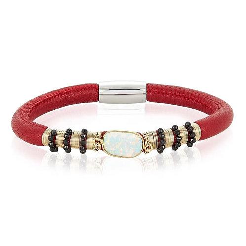 Aroma Single Bracelet - Opal & Spinel