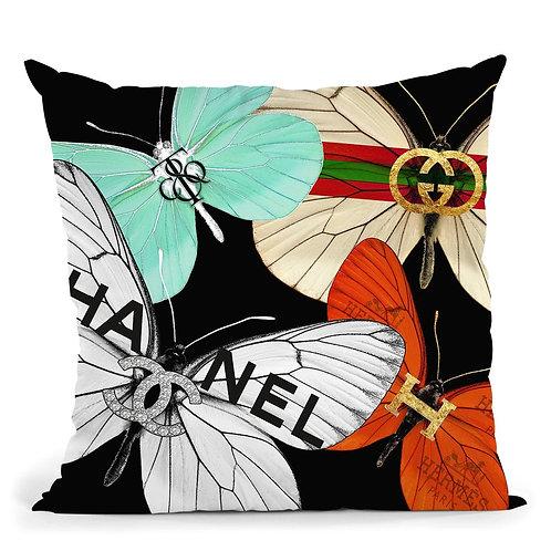 Designers Butterflies Pillow