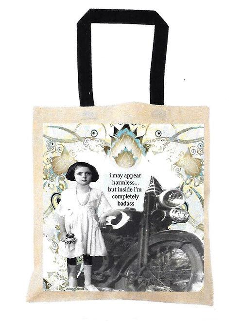 Badass Canvas Tote Bag