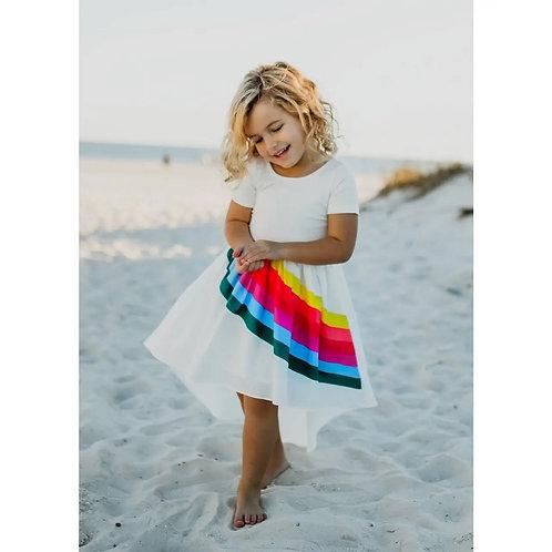 Vivid Rainbow Dress