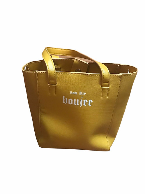 Low Key boujee Bucket Bag