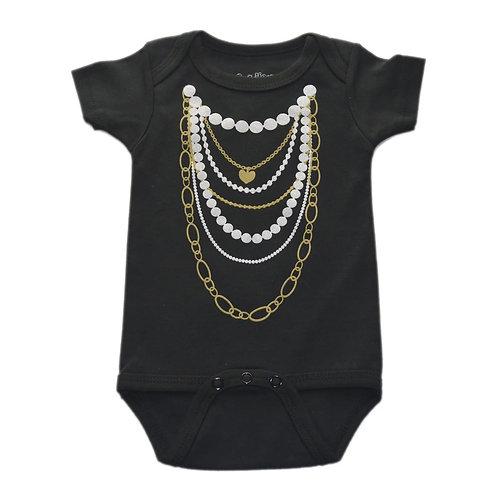 Gold N Pearls Onesie