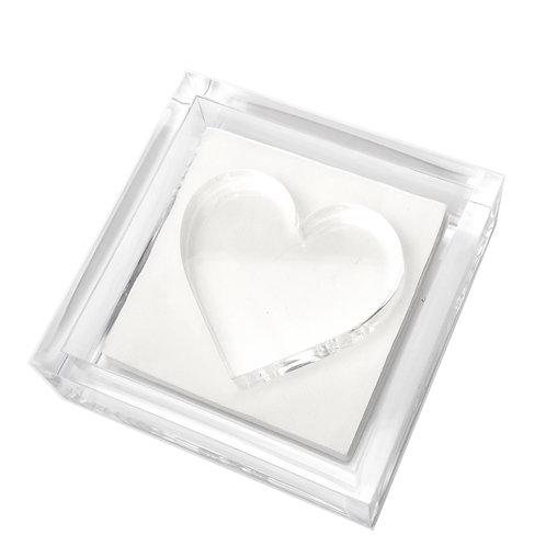 Cocktail napkin holder -Heart