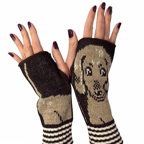 Fingerless Gloves Hot Dog