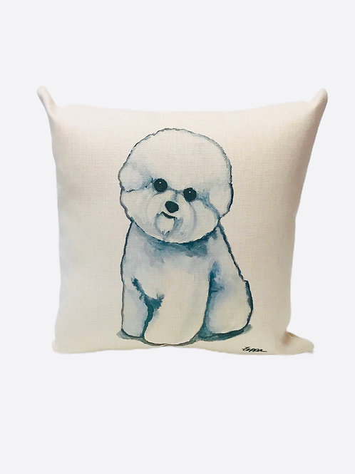 "Pillow ""Bichon Frise"""