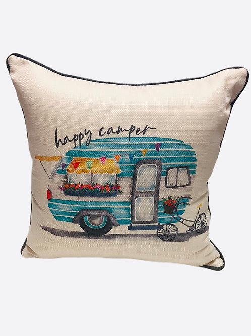 "Pillow ""Happy Camper"""