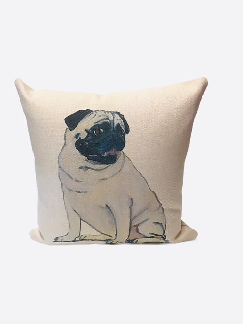 "Pillow ""Pug"""