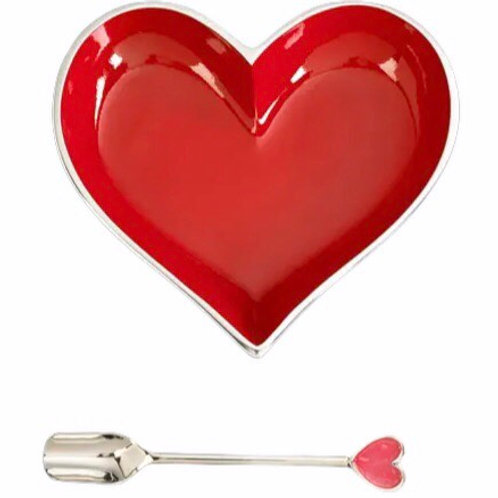 Red Heart and Spoon