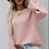 Thumbnail: Chic Buttoned Sleeve Knit Sweater