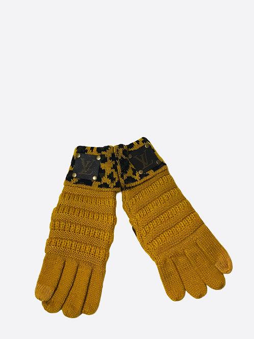 Mustard Gloves LV Repurposed Patch