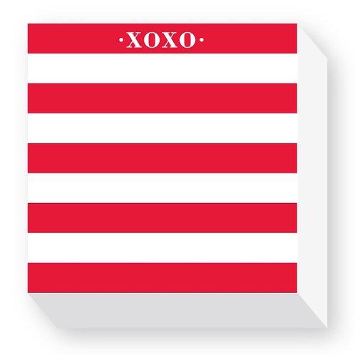 "Chubbie Notepads ""XOXO"""
