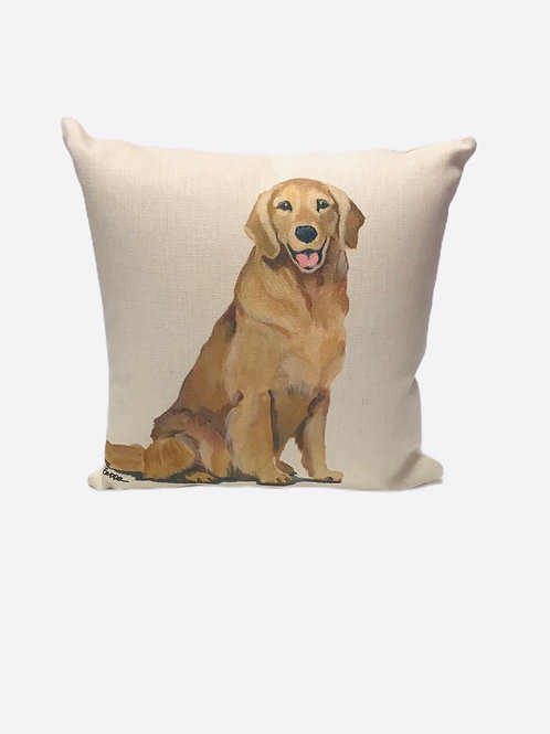 "Pillow ""Golden Retriever"""