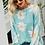 Thumbnail: Ready For Fresh Air Floral Print Sweater