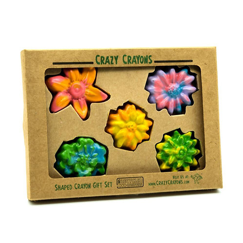 Multi Color Flower Crayons
