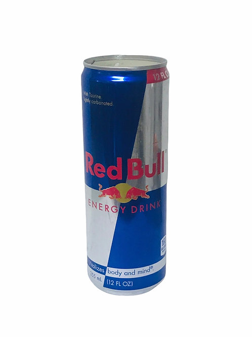 Red Bull Can Candle- Fruit Loops scent