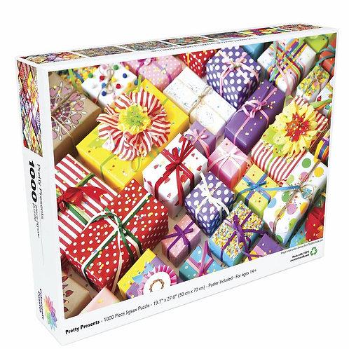 Pretty Presents - 1000 Piece Jigsaw Puzzle