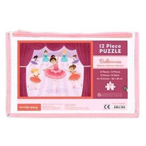 Ballerina  Puzzle Pouch