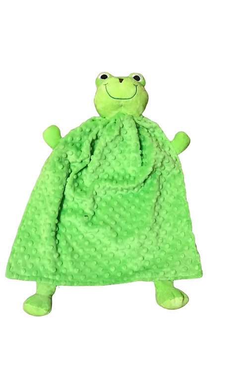 Frog Blanket Buddy