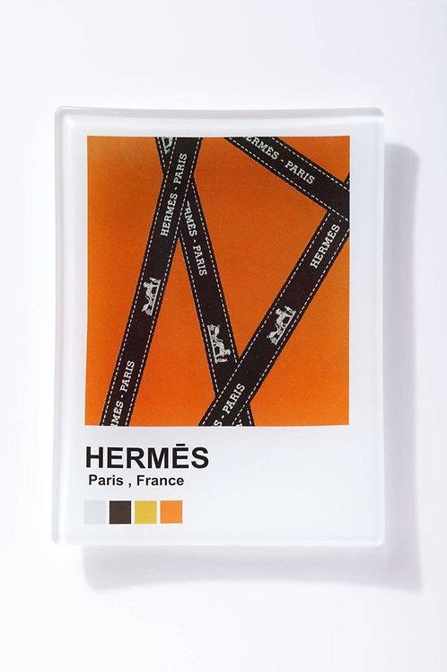 Trinket Tray/Wall Art Pantone Hermes
