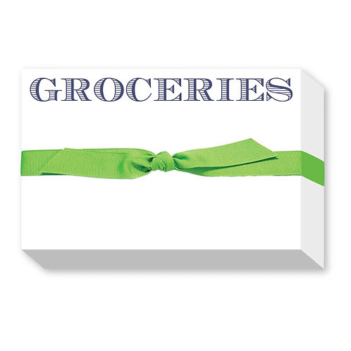 "Big & Bold Notepad ""Groceries"""