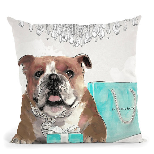 For Me Bulldog Pillow