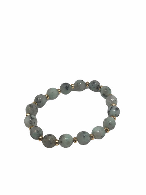 Sesame Jasper Stackable Bracelet