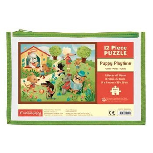 Puppy Playtime Puzzle Pouch