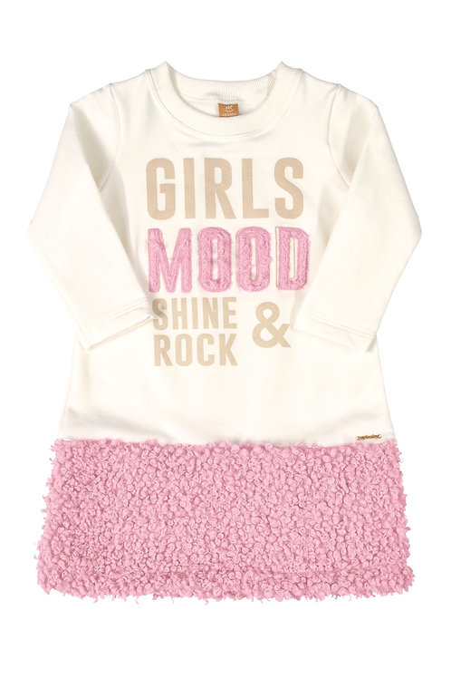 White and Pink Dress Girls Mood