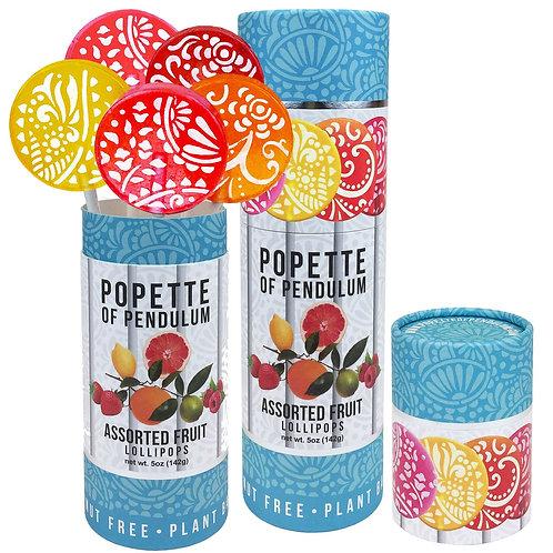 Popette Lollipop: Assorted Fruit