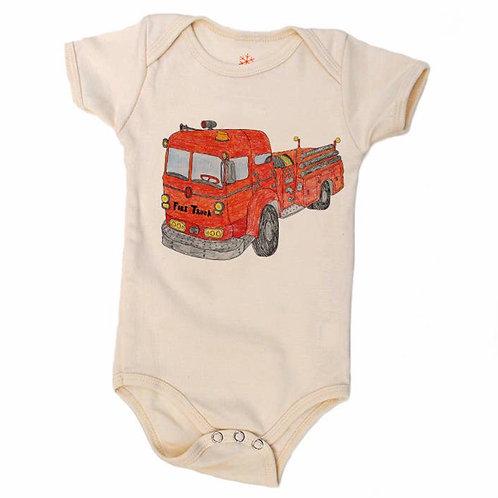 Firetruck Onesie
