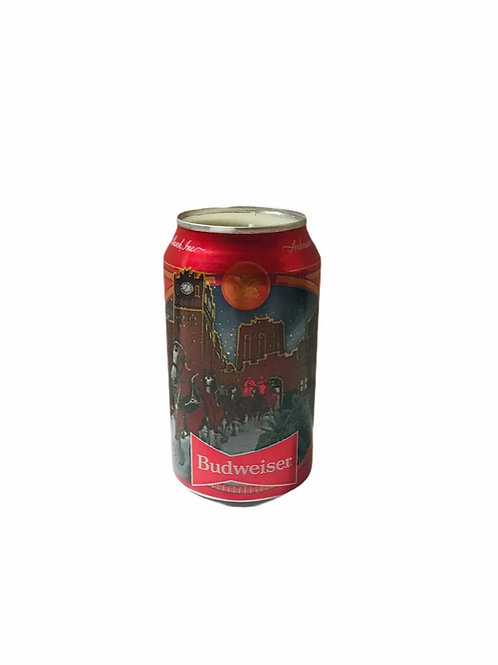 Budweiser Red Can Candle