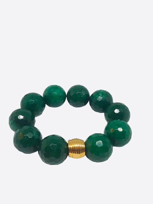 Green Quartz Stretch Bracelet