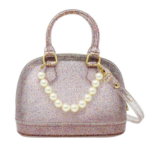 Jelly Bag with Removable Pearl (Rainbow)