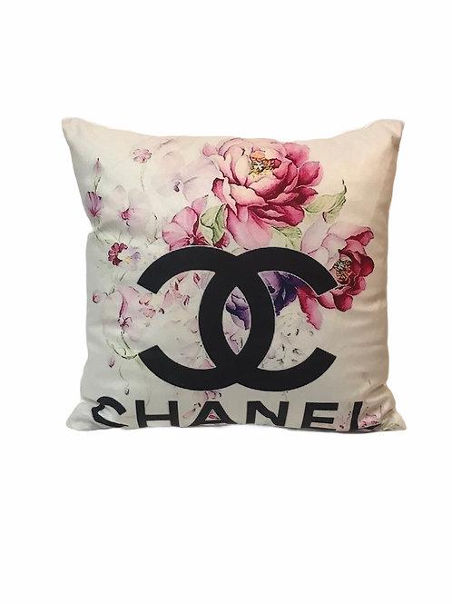 Floral CC Pillow