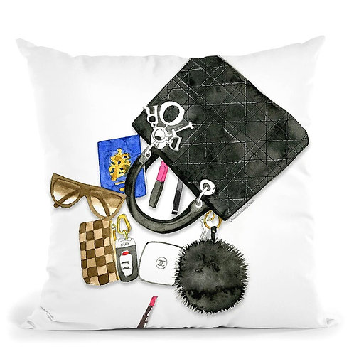 What's In My Bag  Pillow