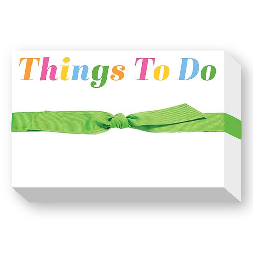 "Big & Bold Notepad ""Things To Do"""