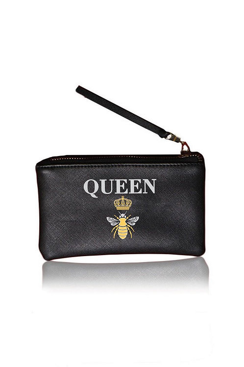 """Queen"" Black Pouch"