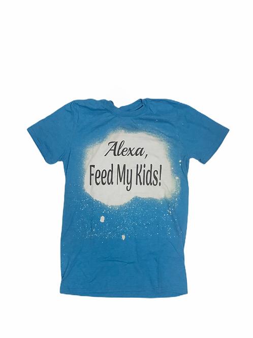"""Alexa, Feed My Kids"" T-shirt"