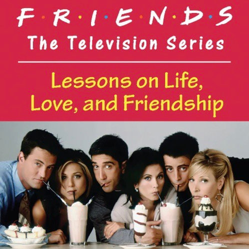 Friends: The Television Series Lessons on Life, Love, and Friendship Mini Book