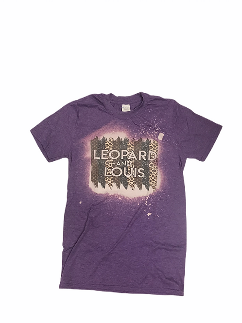 """""""Leopard and Louis"""" T-shirt"""