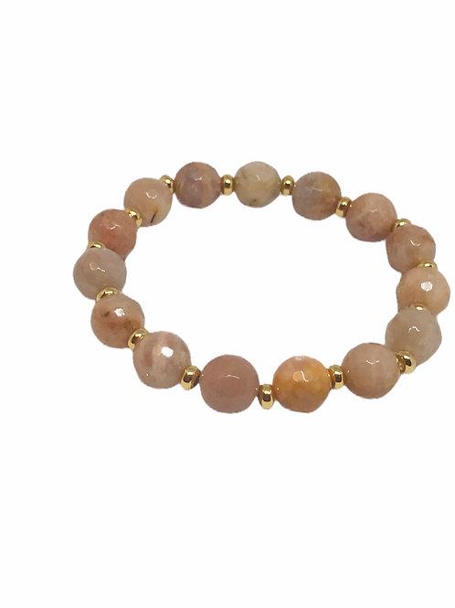 Sunstone Stackable Bracelet