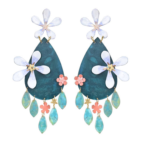Night Garden Earrings