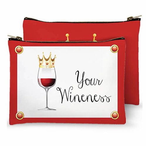 Zippered Bag - Your Wineness