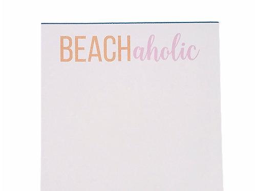 "Chubbie Notepads ""Beachaholic"""