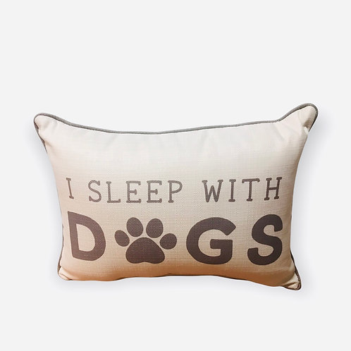 Pillow I sleep with dogs