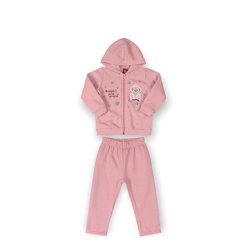Pink Sweat Suit