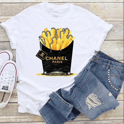 Chanel Fries - Tee