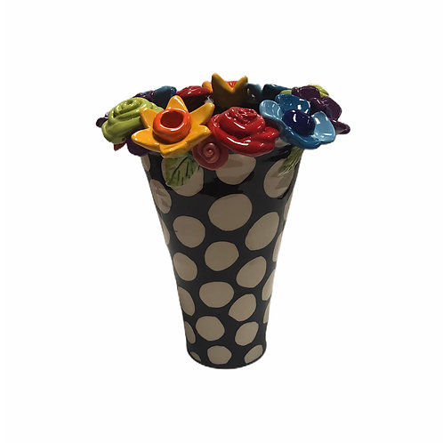 Large Flared Multi Flower Vase